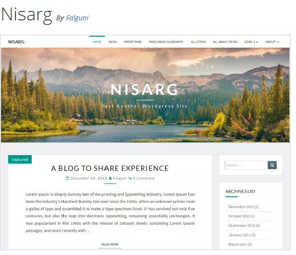 http://falgunidesai.com/work/nisarg-a-wordpress-theme/
