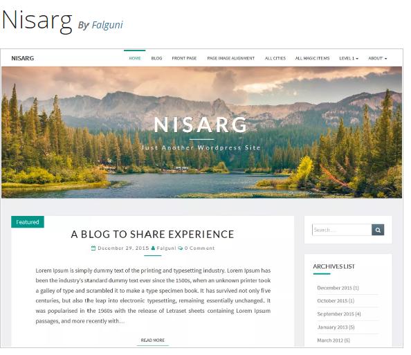 http://falgunidesai.com/work/nisarg-a-wordpress-theme/